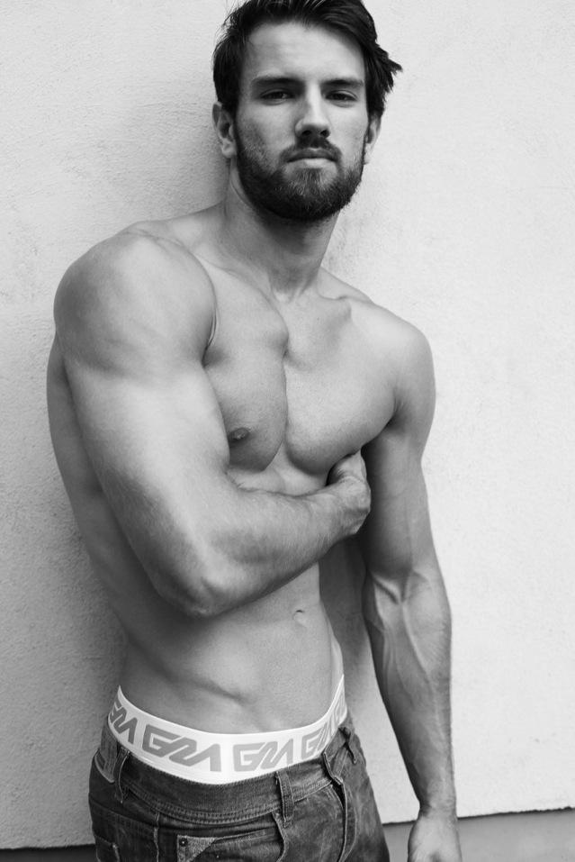 Garcon Model underwear by Jonas Huckstorf with model Sjard 1