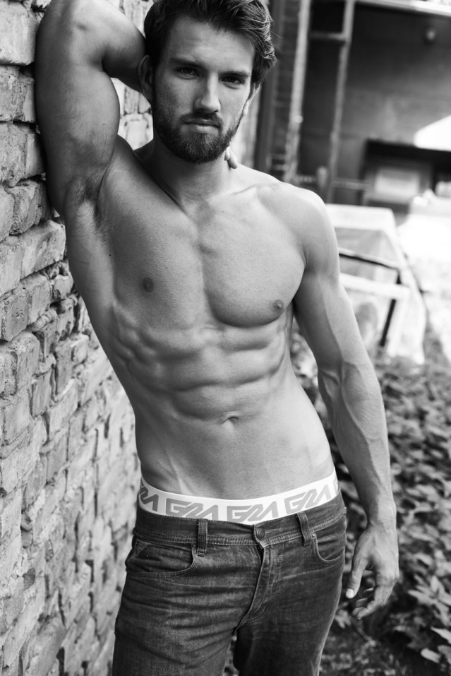 Garcon Model underwear by Jonas Huckstorf with model Sjard 3